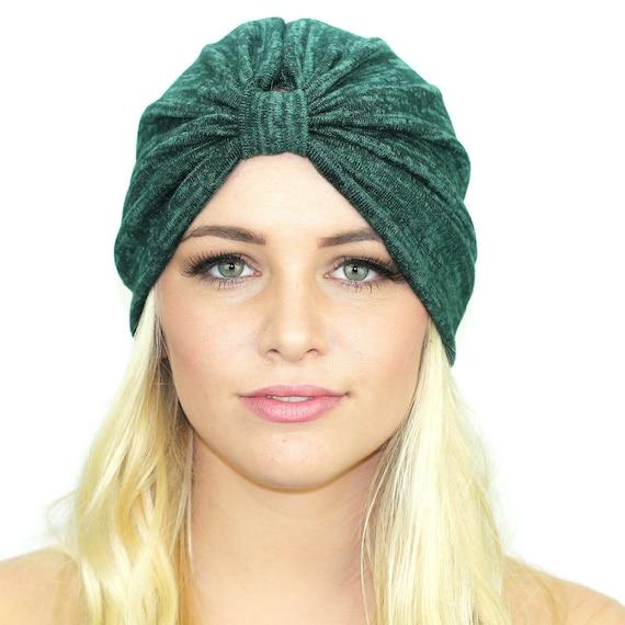 7a1270ed5b6 Hatchi Knit Turban Hat   Full Stretch Turban   Kristin Perry