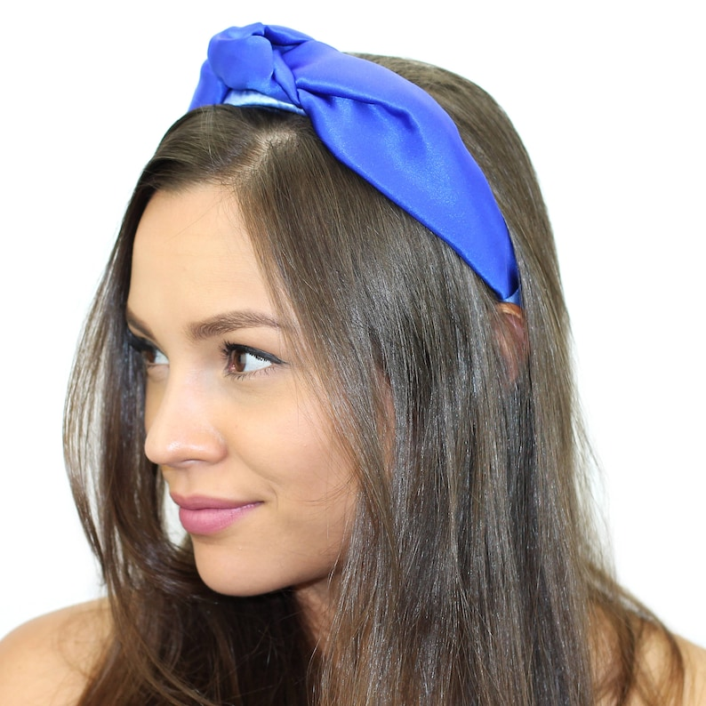 84653f69091f6 Silk Top Knot Headband   Top Knot Turban Headband   Floral