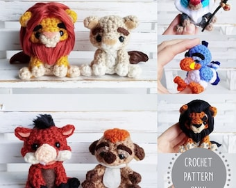 PDF / Crochet Amigurumi Pattern Set