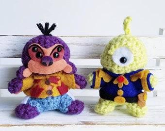 Handmade Crochet Amigurumi Set
