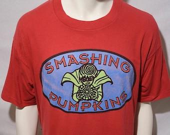 260f35471 90's Smashing Pumpkins - 1994 Siamese Dream Gish Billy Corgan album tour  rock concert t-shirt - men's L / 44