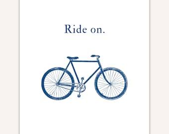 Cycling Home Decor, bicycle wall decor, cyclist gift, bike ride