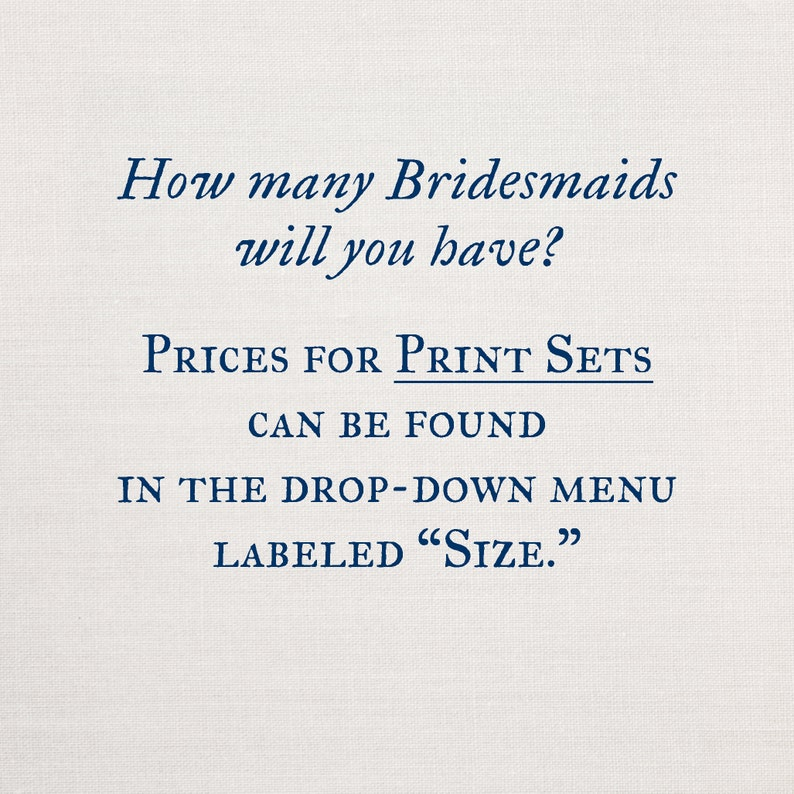 personalized photograph print Will You Be my Bridesmaid Proposal Gift