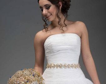 Swarovski Sash - Swarovski Belt - Bridal Sash - Bridal Belt - Wedding Sash - Wedding Belt - Crystal Sash - Crystal Belt - Charlize
