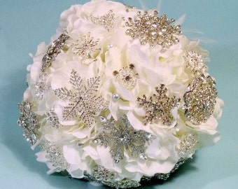 Keepsake Bouquet - Brooch Bouquet - Heirloom Bouquet - Bling Bouquet - Crystal Bouquet - Wedding Bouquet - Bridal Bouquet - DEPOSIT