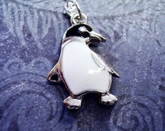 Fine Charms & Charm Bracelets Fine Jewelry Tiny 925 Real Sterling Silver Penguin Charm Bird Animal Birds Antarctica Charms