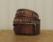 Articles similaires à RÉSERVÉ       cuir ceinture Esprit sud-ouest ... 5f4fabc4aa2