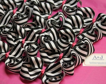 Party Favors- Design Your Own Hair Bow Favors- 8 Extra Large Hair Bows