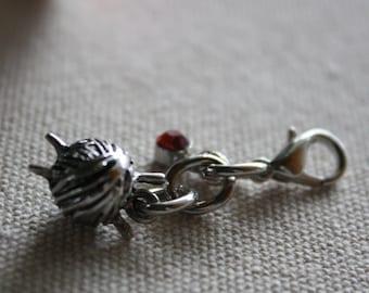 knitters charm - planner charm - zipper pull - purse charm