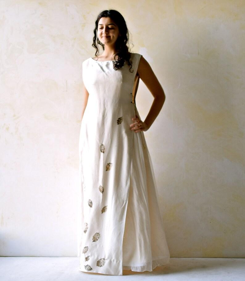 Pagan Wedding Dresses.Woodland Wedding Dress Pagan Wedding Dress Medieval Wedding Dress Boho Wedding Dress Handfasting Dress Wedding Separates Silk Tunic
