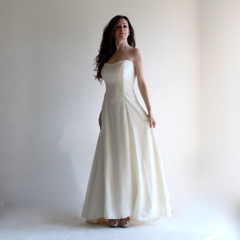Wedding Dress Princess Wedding Dress Simple Wedding Dress Etsy