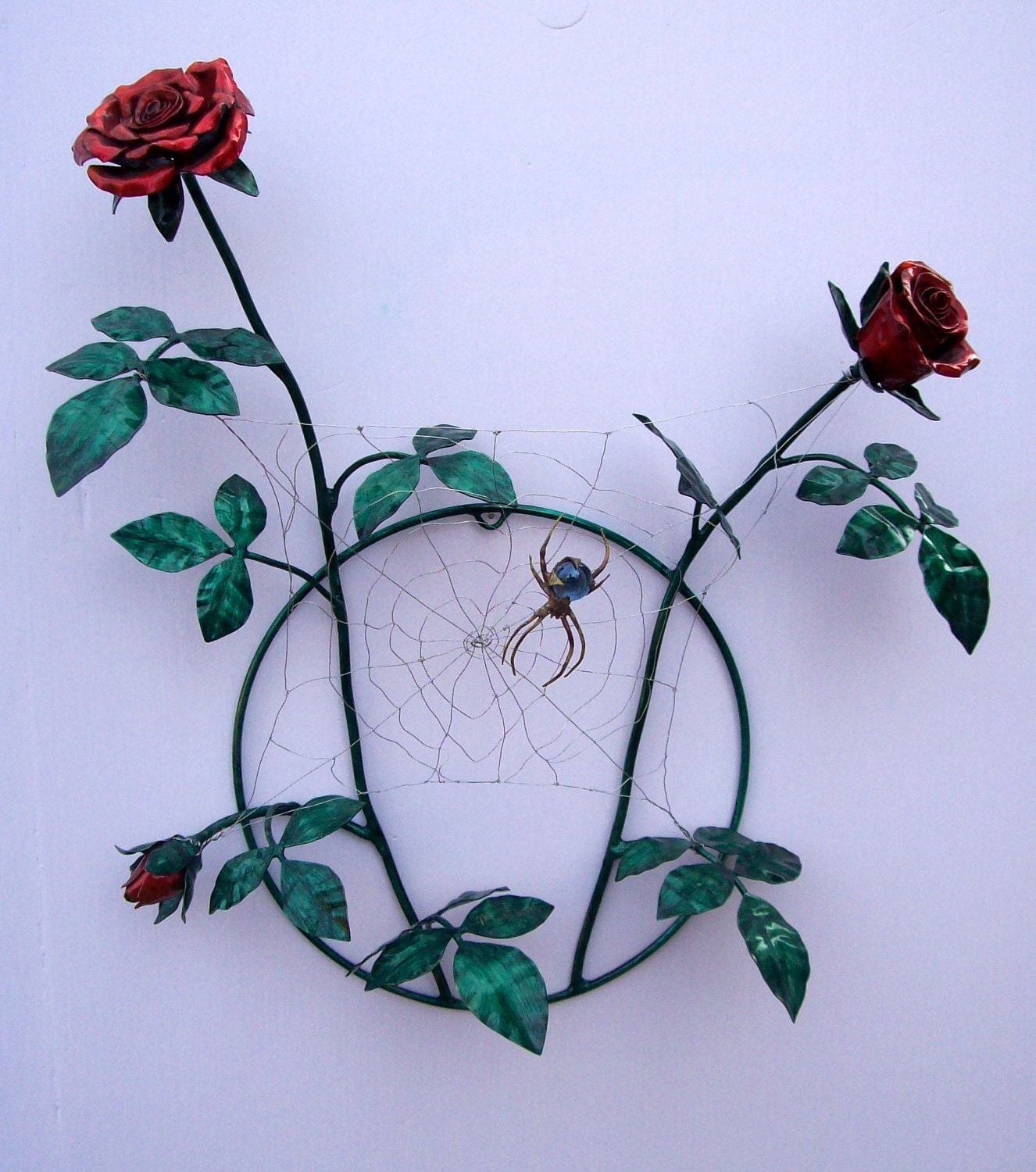 Stainless Steel Hand Made Roses