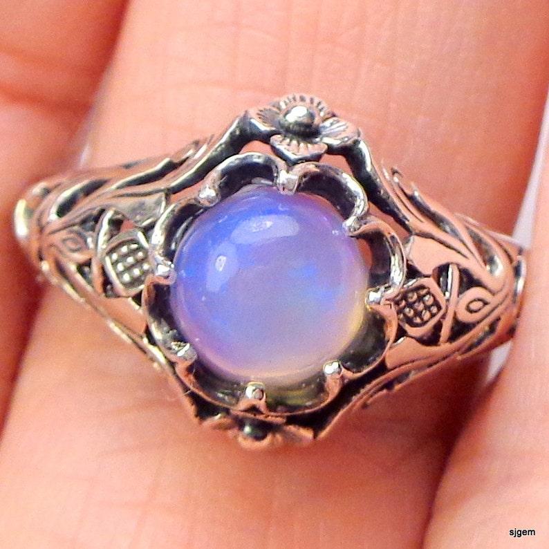 ooak Welo Opal ring