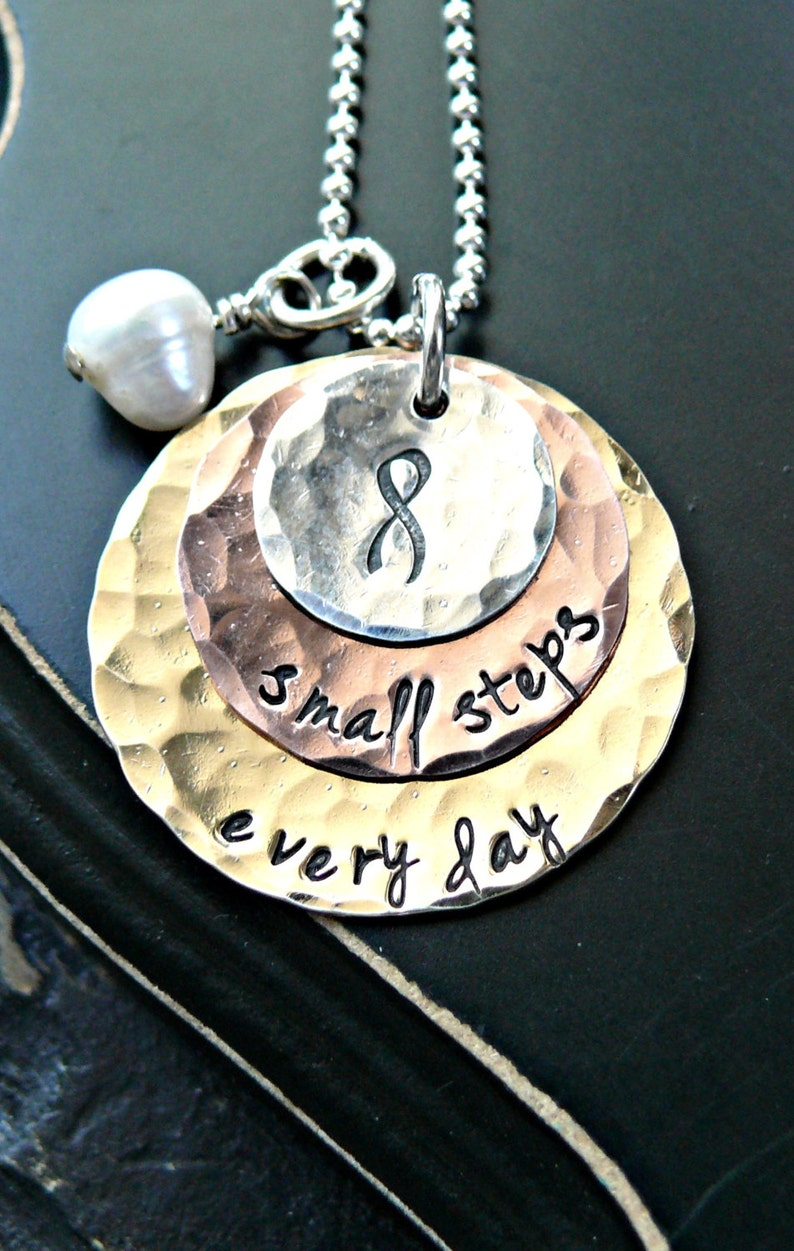 Breast Cancer Awareness Survivor Personalized Awareness Ribbon Find the Cure Warrior I/'m a Survivor Ribbon Necklace Pink