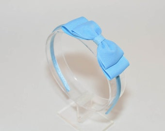 Light Blue Bow Headband. Girls Hair Accessories. Teen Hair Accessories.  Adult Hair Accessories. Light Blue Headband. Easter Bow Headband. fafeb66908f