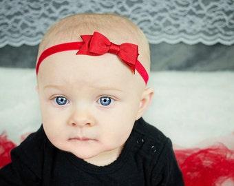 Red Bow Headband  Red Baby Headband  Snow White Headband  Baby Hair  Accessories  Baby Girls Hair Accessories  Baby Headbands   Bows c0c654cac71