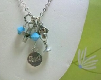 Faith First Communion or Special Event Necklace