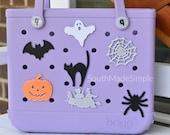 3D Printed Halloween Bogg Bag Buttons, Bogg Bag Charms, Bogg Bag Accessories, Bogg Bag Bits, Fall Bogg Bag Accessories, Pumpkin Bogg Bag