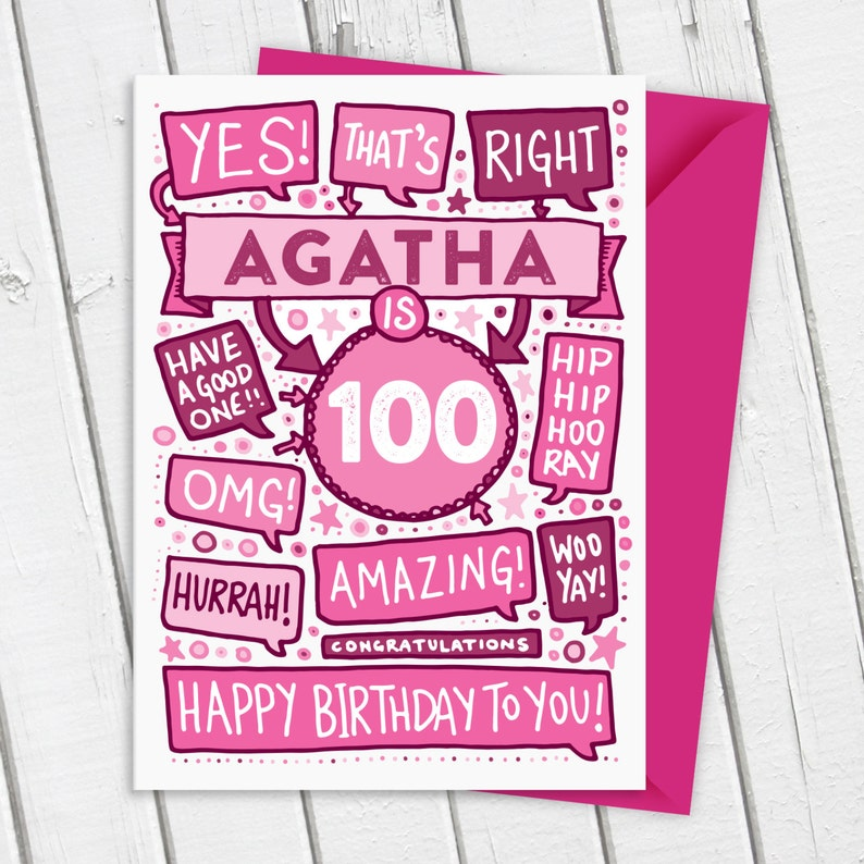 Personalised Birthday Card Customised Card Special Age Card Any Age card Yes That/'s Right Birthday Card Bespoke Card