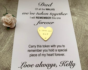 Father of Bride Gift, Personalised Wedding Day Keepsake Gift From Daughter