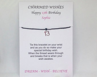 Gift For 13th Birthday Daughter Friends Gifts Teenager Card Friendship