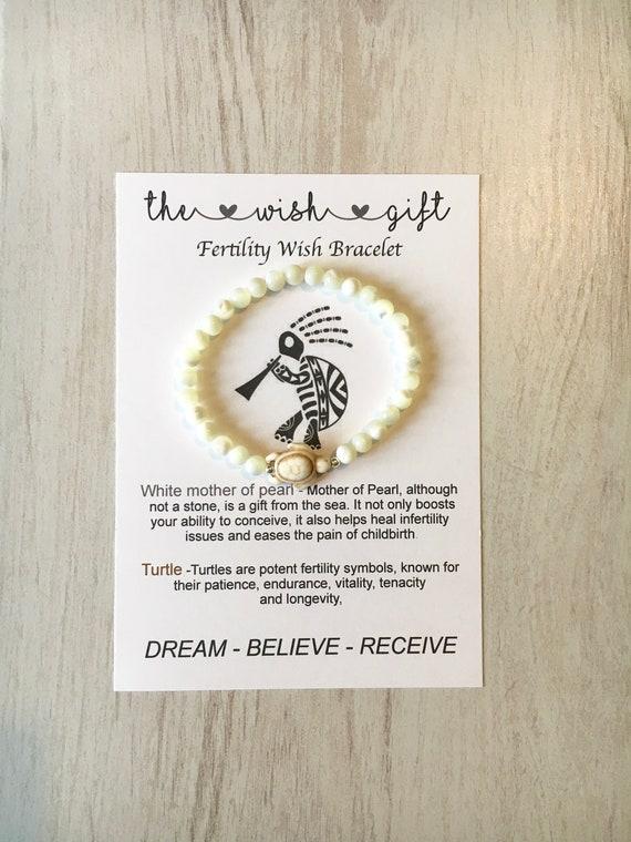 Fertility Bracelet Ivf Fertility Infertility Healing
