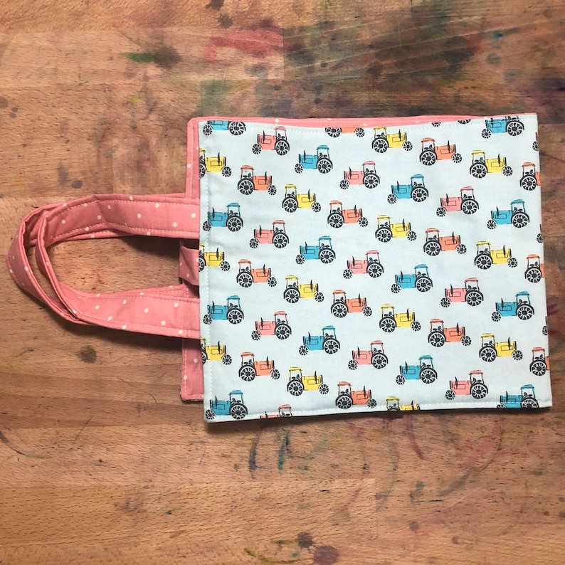 Tractor Busy BagZiplock Project Bag