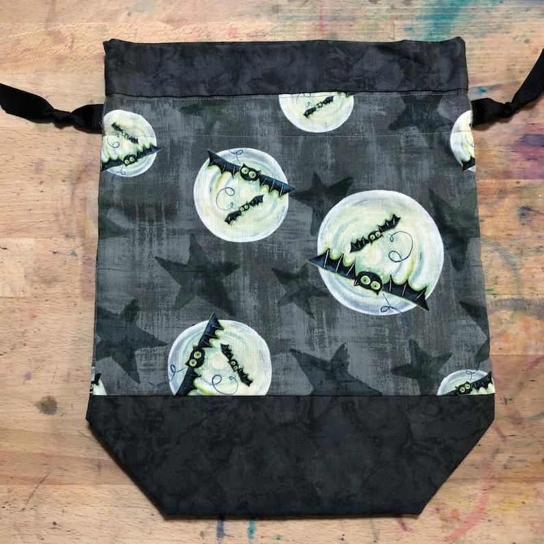 Halloween Drawstring Project Bag