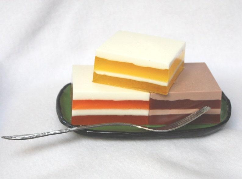 Slices of Cake Soap Set  chocolate orange lemon teens image 0