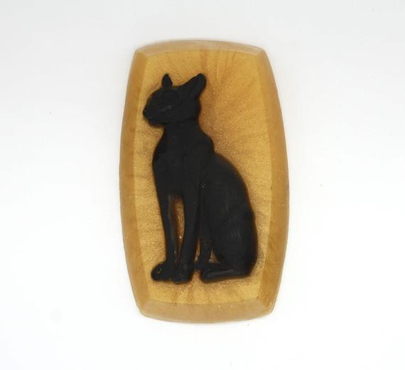 Egipskisyjamski Kot Mydło Mydło Cat łyka Strona łaski Etsy