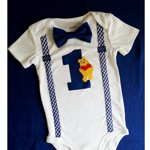 1st Birthday Outfit Boy.First Birthday Outfit Boy Winnie The Pooh Birthday Baby Boy 1st Birthday Personalize It