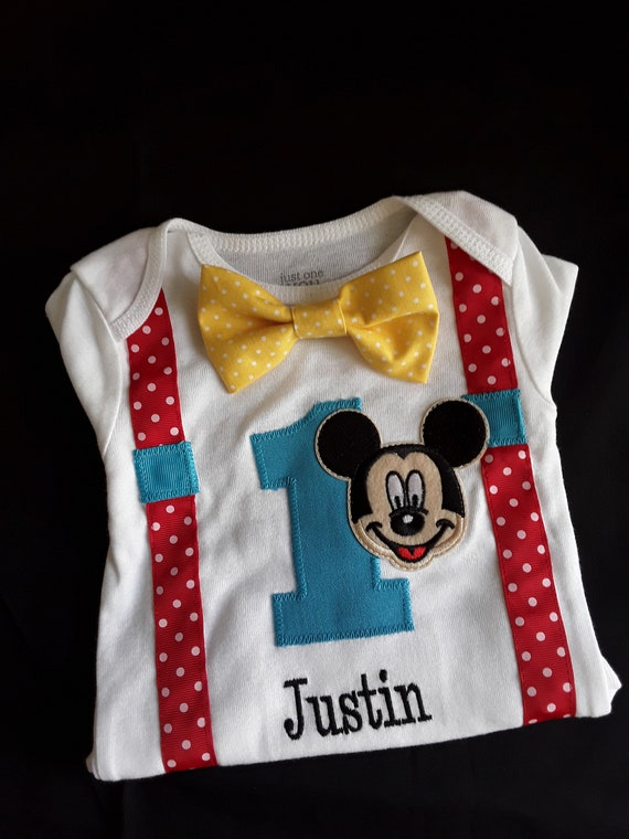 awesome mickey mouse 1st birthday outfit for boy or 57
