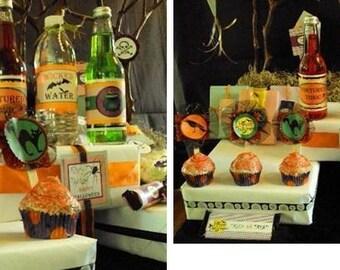 PRINTABLE DIY Happy Halloween Design Collection Instant Download