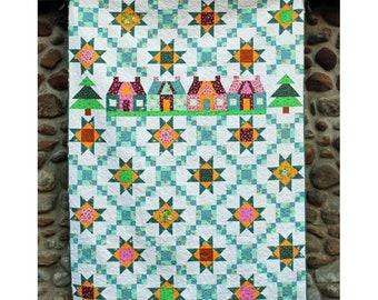 Cottage Lane Quilt Pattern