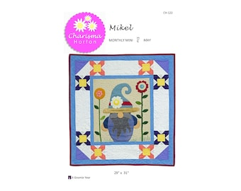 A Gnomie Year, May-Mikel PDF pattern