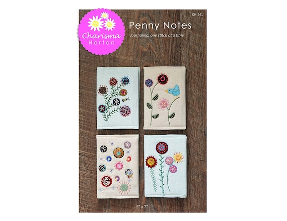 Penny Notes 2.0 Paper Pattern
