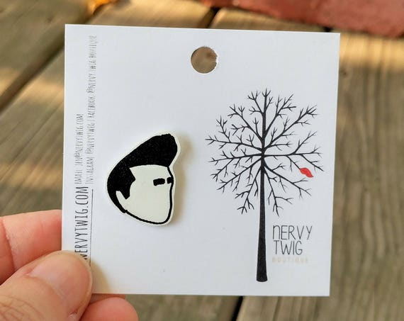 Morrissey pin // shrink plastic // clutch back pin