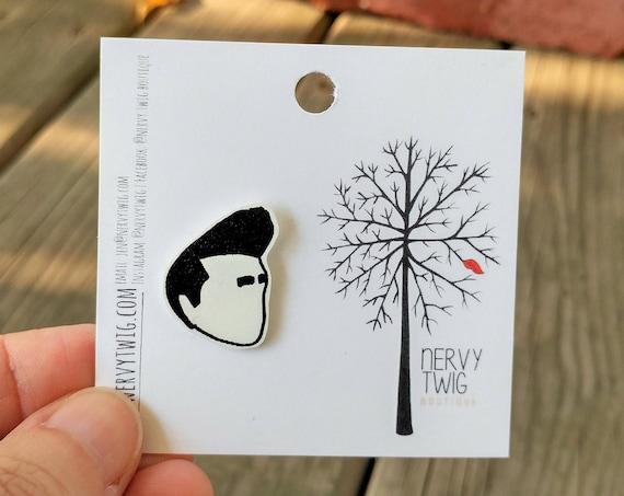 Morrissey pin // shrink plastic // clutch back pin
