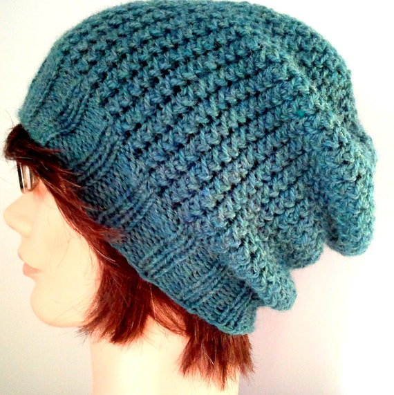 KNITTING PATTERN // PDF instant download // worsted weight yarn hat // Grady