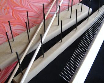 Marbling Tool Set Rake Comb Double Rake for Paper Fabric Tools Marbled Paper Ebru