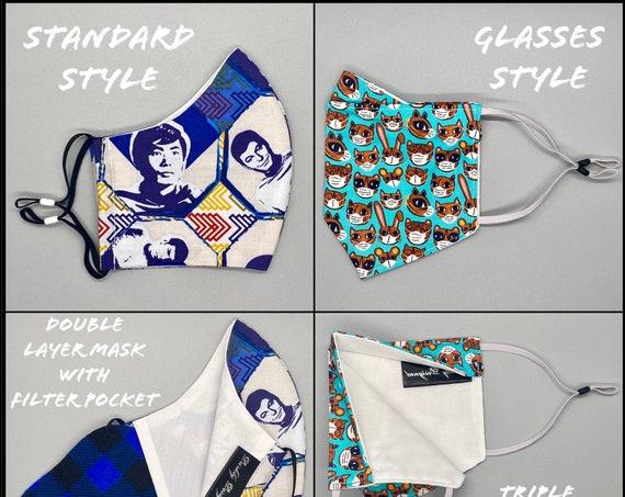 Face Masks - Geek Collection