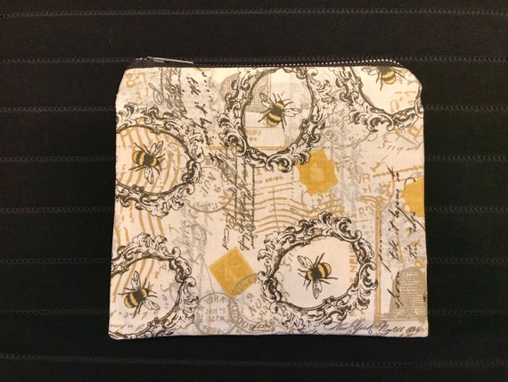 Honey Bee Zippered Bag