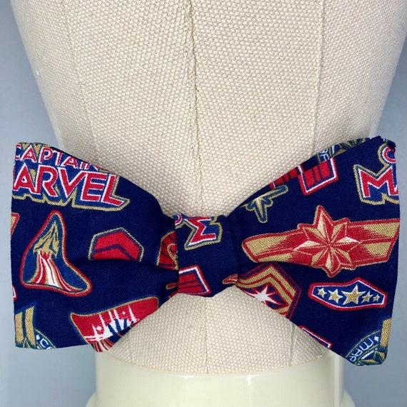 Captain Marvel Bow Tie