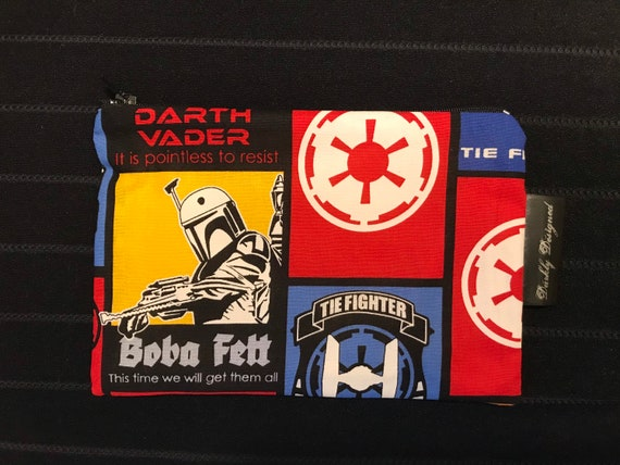 Star Wars 'Glow in the Dark' Zippered Bag