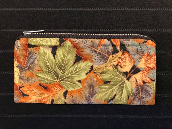 Autumn Leaves Zippered Bag