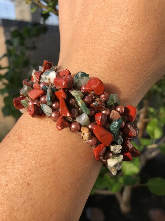 Outlander Stone Beaded Bracelet