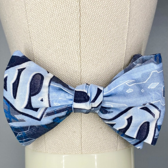 Superman Bow Tie (size small-best for pets or kids)