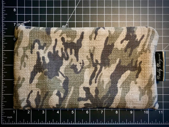 Camouflage Zippered Bag