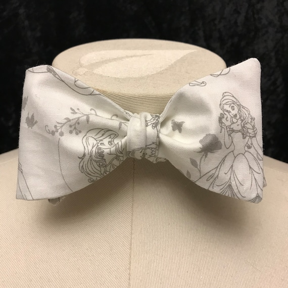 Disney Princesses Bow Tie