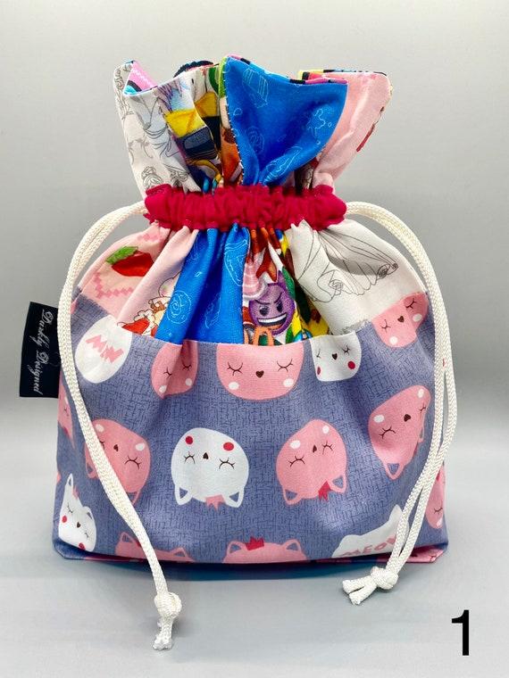 Kitty Drawstring Bag